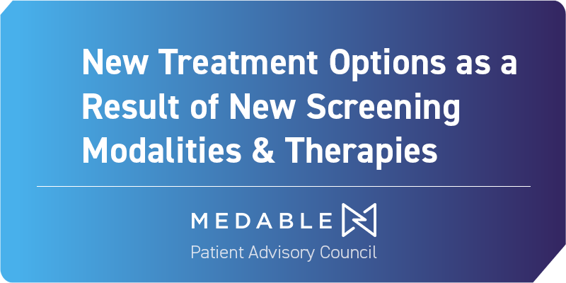New Treatment Options as a Result of New Screening Modalities & Therapies-graphic